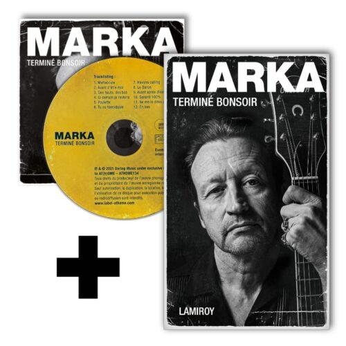 Marka - Terminé Bonsoir (CD + Livre)
