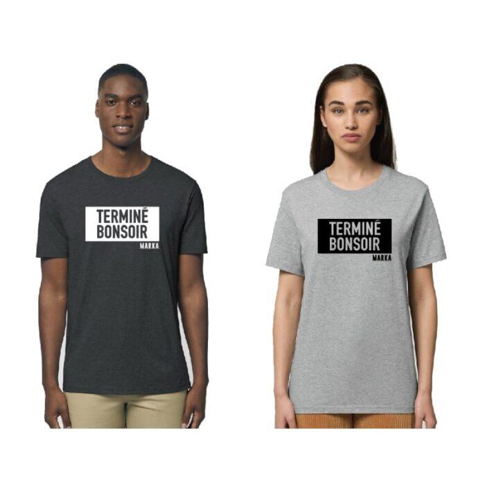 T-shirt Terminé bonsoir