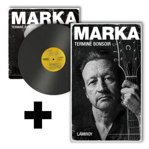 Marka - Terminé Bonsoir (Vinyle + Livre)